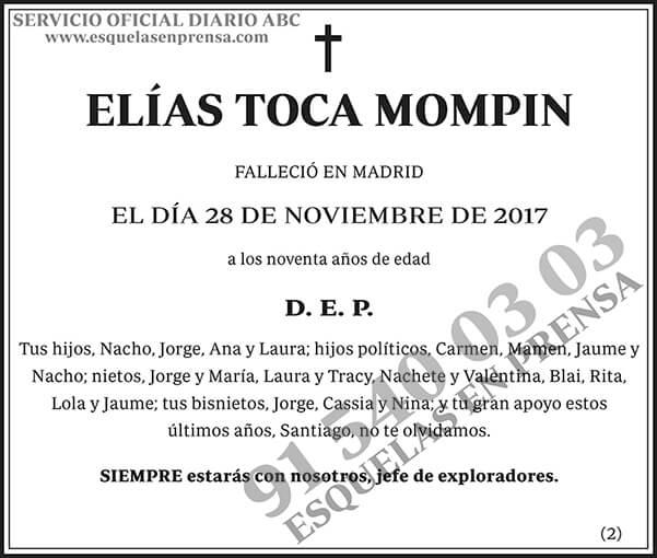 Elías Toca Mompin